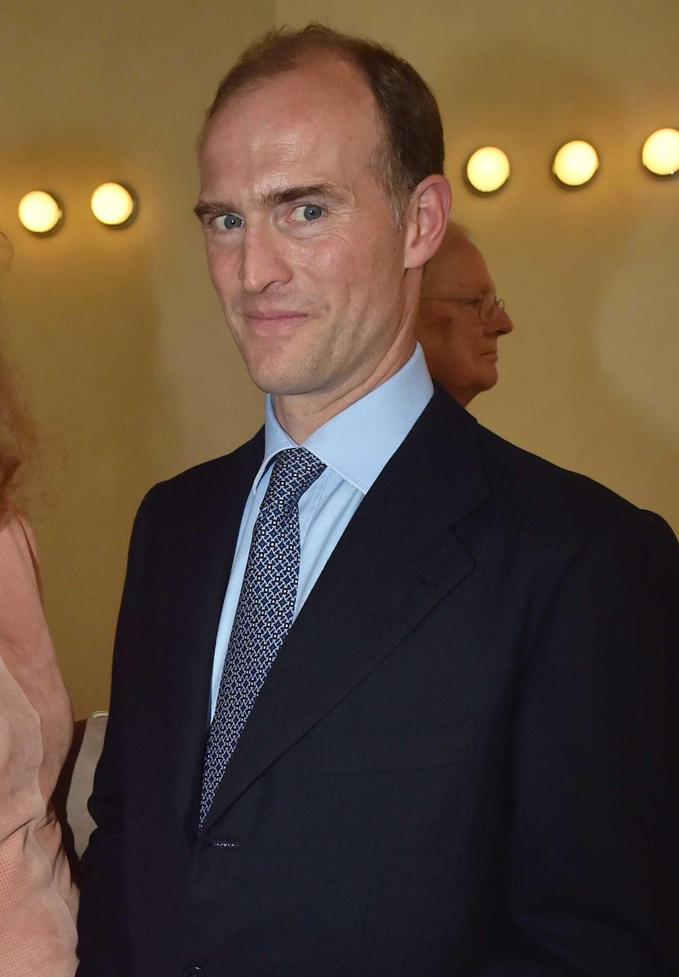 Prince Donatus, Landgrave of Hesse, who is one of the 30 guests who will be in attendance at the Duke of Edinburgh's funeral at Windsor Castle on SaturdayPA