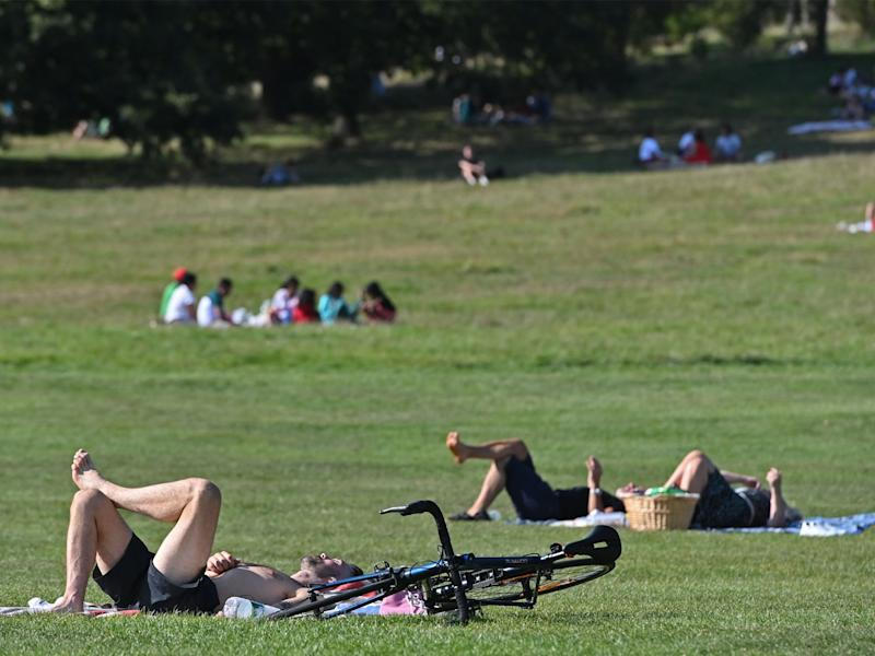 Temperatures this September have reached a four-year high (AFP)