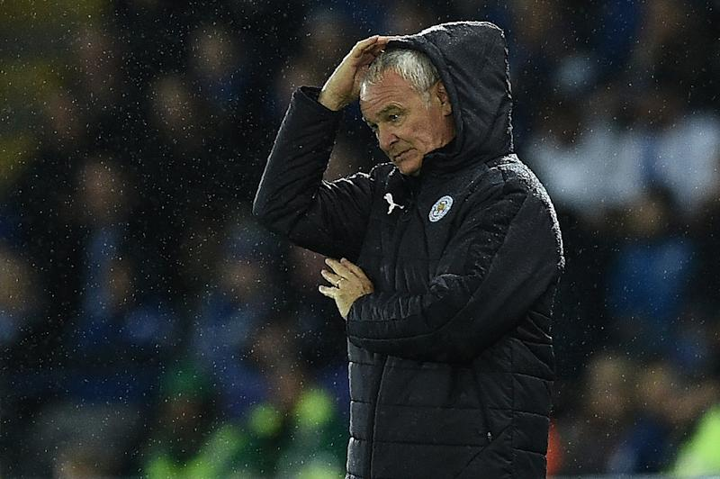 Despite a 100 percent Champions League record Leicester City manager Claudio Ranieri is worried his team is struggling domestically