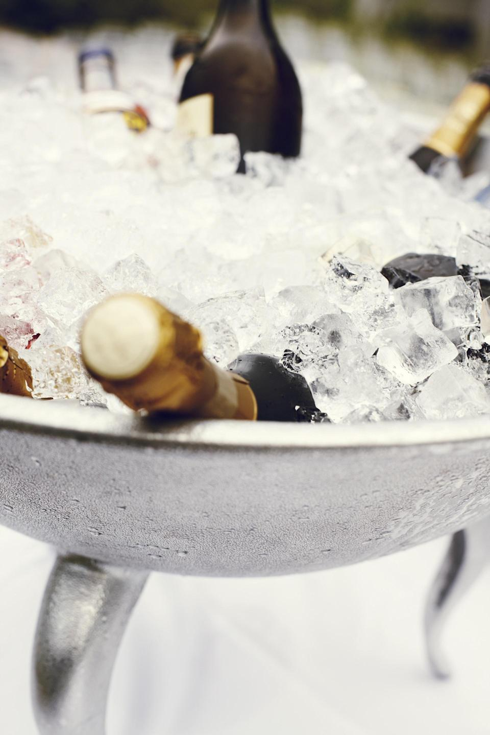 Watch out for ice buckets too [Photo: Pexels]