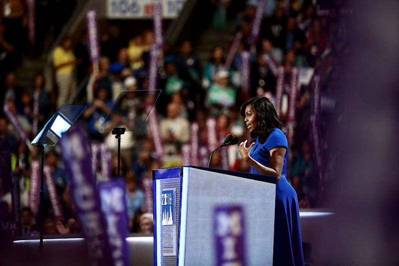 Michelle Obama's DNC Speech Proves We Need Women in the White House