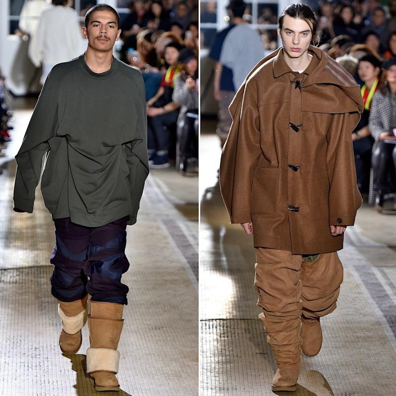8ee6b185b08 Y/Project Thigh-High Uggs Debut at PFW to Mixed Opinions