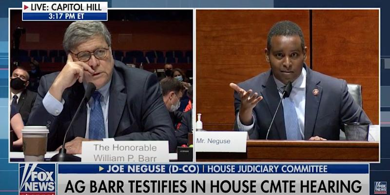 william barr hearing
