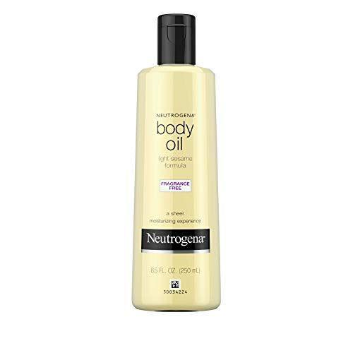 """<p><strong>Neutrogena</strong></p><p>amazon.com</p><p><strong>$12.99</strong></p><p><a href=""""https://www.amazon.com/dp/B001B0ZZFS?tag=syn-yahoo-20&ascsubtag=%5Bartid%7C2140.g.37374736%5Bsrc%7Cyahoo-us"""" rel=""""nofollow noopener"""" target=""""_blank"""" data-ylk=""""slk:Shop Now"""" class=""""link rapid-noclick-resp"""">Shop Now</a></p><p>You can't go wrong with Neutrogena's lightweight, sesame oil-based formula: It's fragrance-free, glides on easily without feeling greasy, and is well-priced to boot. Massage a couple of drops into your skin to soften it up, or add it straight into your bathwater for a similar silkening effect. </p>"""