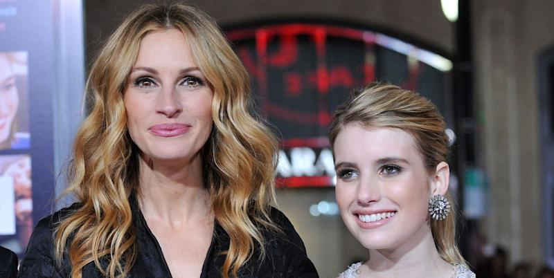 Julia Roberts is Too Scared to Watch Niece Emma Roberts in ...