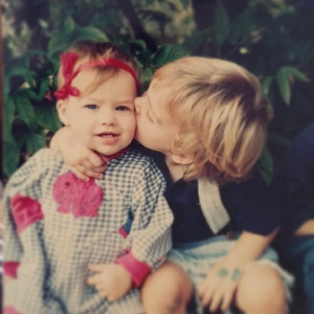 """<p>Margot Robbie shared a baby photo in honour of her big brother's birthday on Instagram.</p><p><a href=""""https://www.instagram.com/p/m4mMfhhF5N/"""" rel=""""nofollow noopener"""" target=""""_blank"""" data-ylk=""""slk:See the original post on Instagram"""" class=""""link rapid-noclick-resp"""">See the original post on Instagram</a></p>"""