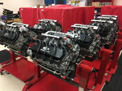 Roush Yates winning F9 Racing Engines for NASCAR Tech's High Performance Course