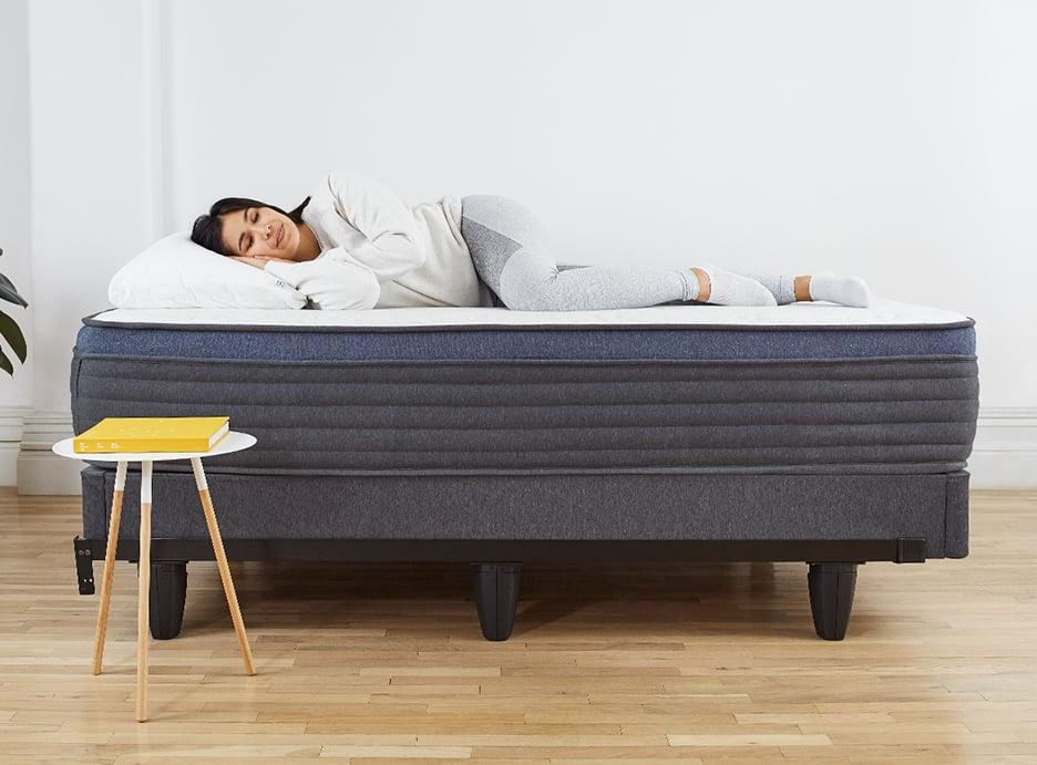 """<p>""""I love my <span>Helix Dusk Medium Feel Mattress With Extra Support</span> ($599-$1,299). I am a side sleeper and my husband is a stomach sleeper, and it offers great support and comfort for both of us. I have had the mattress for several years, and it actually came with two different toppers that zipped directly to the top of the mattress. I have now religiously swapped back and forth between the two toppers depending on the season. It has been a game changer, as I am a hot sleeper but love a lot of covers. It looks like they are still offering the cooling topper but have swapped it for <span>a regular pad</span> ($100-$175)."""" - Lauren Hendrickson, head of Shop and Affiliate Growth</p> <p>If you want to read more, here is the <a href=""""https://www.popsugar.com/home/photo-gallery/48145039/image/48145885/Helix-Dusk-Medium-Feel-Mattress-With-Extra-Support"""" class=""""link rapid-noclick-resp"""" rel=""""nofollow noopener"""" target=""""_blank"""" data-ylk=""""slk:Helix Dusk Medium Feel Mattress With Extra Support"""">Helix Dusk Medium Feel Mattress With Extra Support</a> review.</p>"""