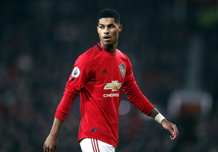 File photo dated 26-12-2019 of Manchester United's Marcus Rashford.