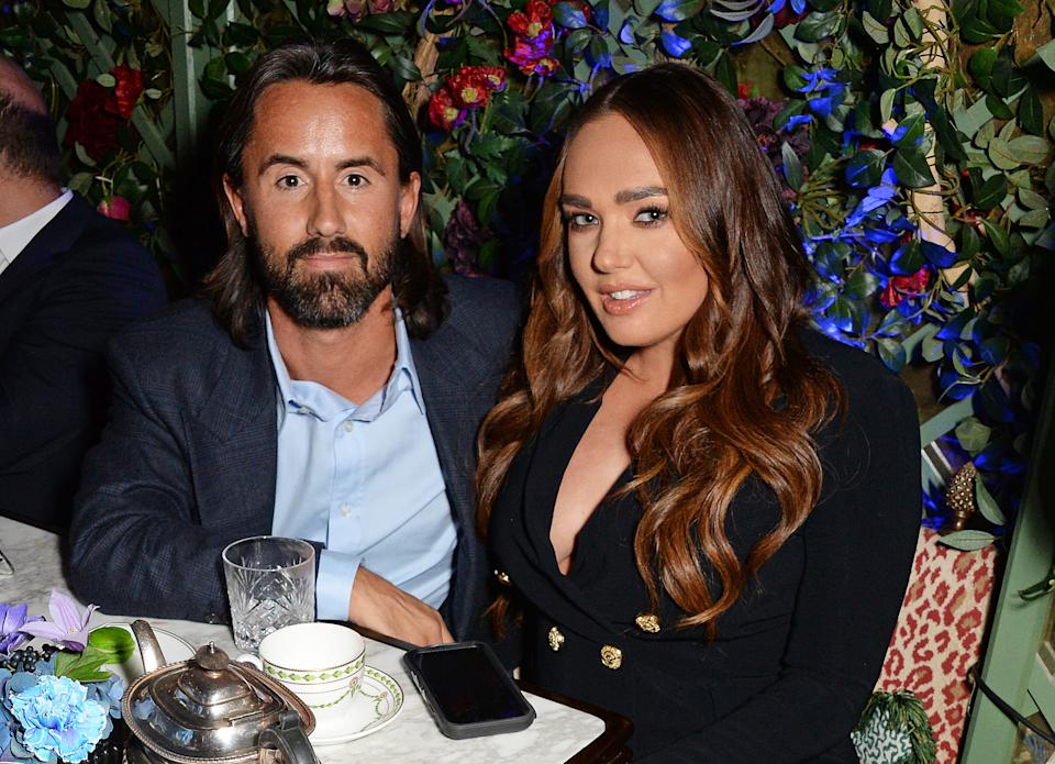 LONDON, ENGLAND - NOVEMBER 07:   Jay Rutland and Tamara Ecclestone attend the Annabel's Art Auction fundraiser in aid of Teenage Cancer Trust & Teen Cancer America at Annabel's on November 7, 2018 in London, England.  (Photo by David M. Benett/Dave Benett/Getty Images)