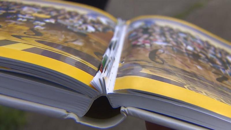 "School administrators decided to cut out the entire senior section of the Sumner High School yearbook after some ""inappropriate"" quotes inadvertantly made it into the yearbook. (Credit: KOMO News)"