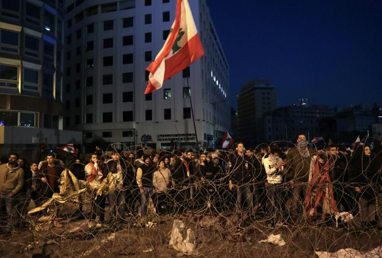 Lebanese anti-government demonstrators mark 100 days of protests with fresh rallies