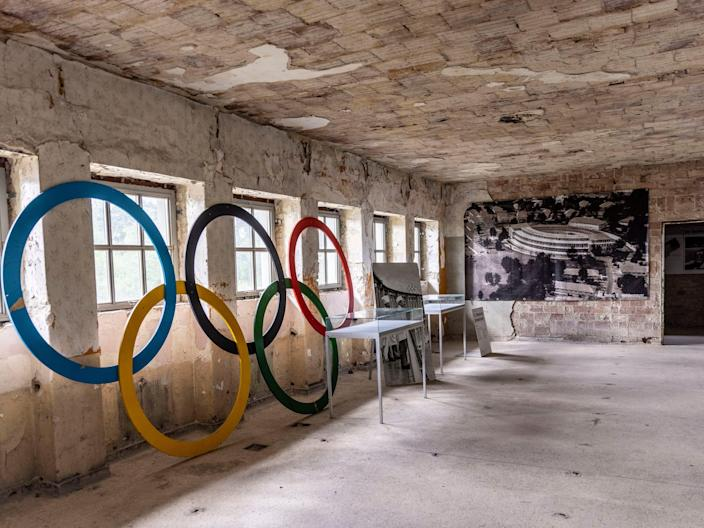 the remains of the 1936 Olympics