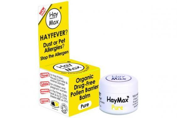 Balms like this one from Hay Max (£6.99, Boots.com), work as barriers from pollen