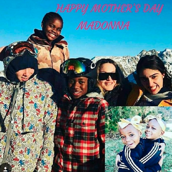 """Madonna knows what she wants to say and will say it! She wrote on Instagram: """"And Happy Father'. Day to Me too because lets face it ............,,..,,,,,... Im the Mommy and the Daddy. I don't care what the papers say""""."""