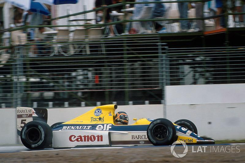 """Thierry Boutsen, Williams-Renault FW13, 1989<span class=""""copyright"""">Sutton Motorsport Images</span>"""