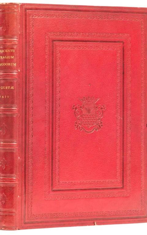Crescentiis (Petrus de) Ruralia commoda, a first edition of the first printed book on agriculture