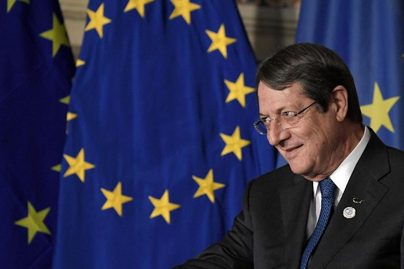 """We find ourselves before critical and defining developments for the future of our homeland,"" President of Cyprus Nicos Anastasiades said"