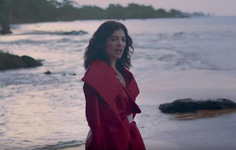 Lorde has sent fans on an 'Easter egg' hunt in her new music video. Source: YouTube / Vevo