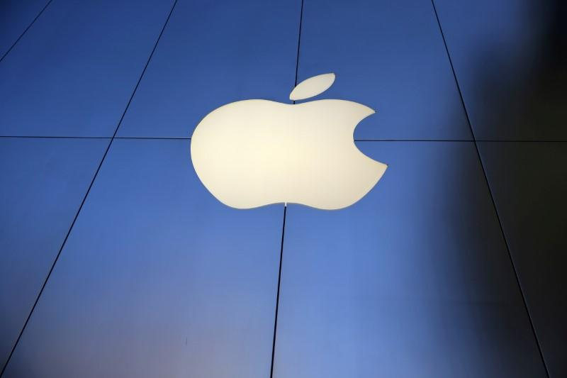 FILE PHOTO: The Apple Inc. store is seen in Los Angeles