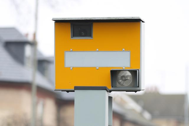 Stock picture of a Gatso speed camera in Cambridge. PRESS ASSOCIATION Photo. Issue date: Sunday  November 16. 2014.  Photo credit should read Chris Radburn/PA Wire.