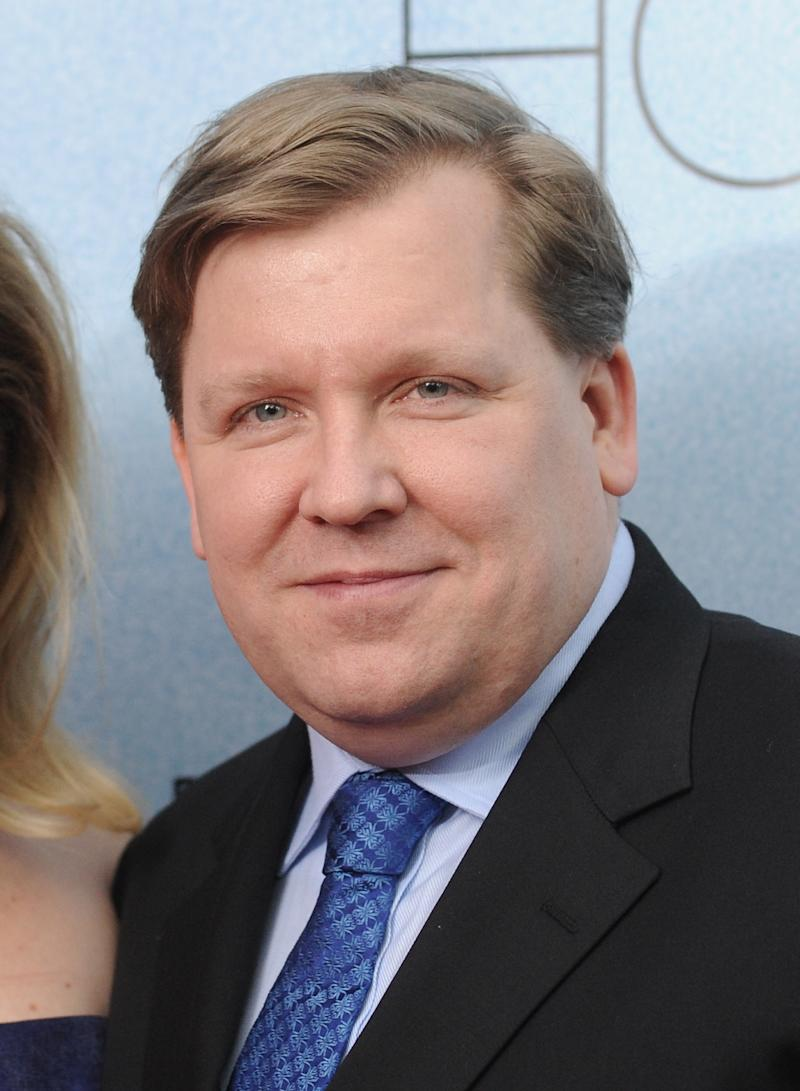 "FILE - This Dec. 2, 2010 file photo shows writer David Lindsay-Abaire at the premiere of ""Rabbit Hole"" at the Paris Theatre in New York. Lindsay-Abaire's Tony Award-nominated play ""Good People"" tops the list of most produced plays nationwide during 2012-13 season, according to the theater industry's largest trade group.  (AP Photo/Evan Agostini, file)"