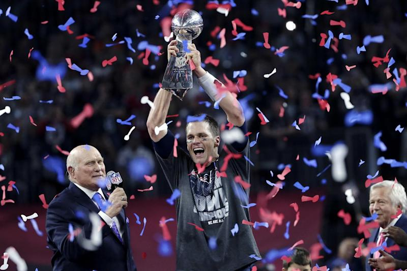 Tom Brady will be trying to win another Lombardi Trophy this season. (AP)