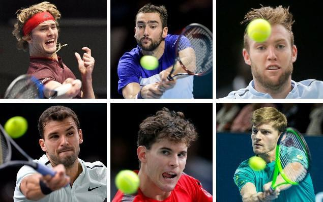 Who will give Roger Federer and Rafael Nadal a run for their money at the O2?