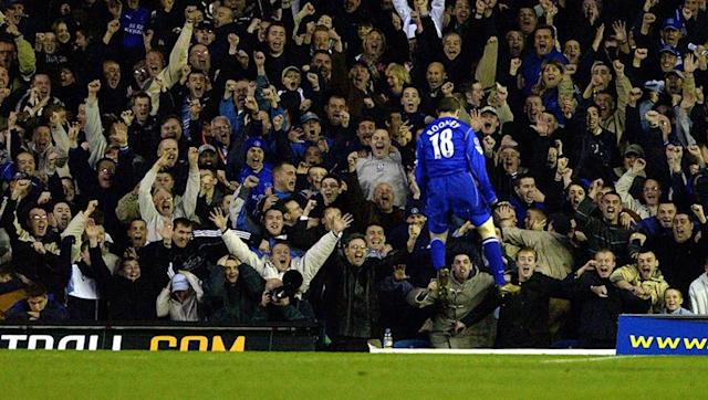 <p>It had been over half a century since Everton last tasted victory over then Champions-League qualifiers Leeds United, and nobody had any inclination that such a record would be broken anytime soon.</p> <br><p>Step forward Mr Rooney.</p> <br><p>The teenager emerged from the bench on a cool November evening to collect Tony Hibbert's pass inside, skipped past a midfield challenge before sizing up Lucas Radebe and guiding a low shot across Paul Robinson's goal into the far corner to send the Everton end wild.</p> <br><p>A lot has changed since then - notably Leeds' shock relegation in 2003/04 - but not one Evertonian will ever forget Rooney's winning goal in Yorkshire.</p>