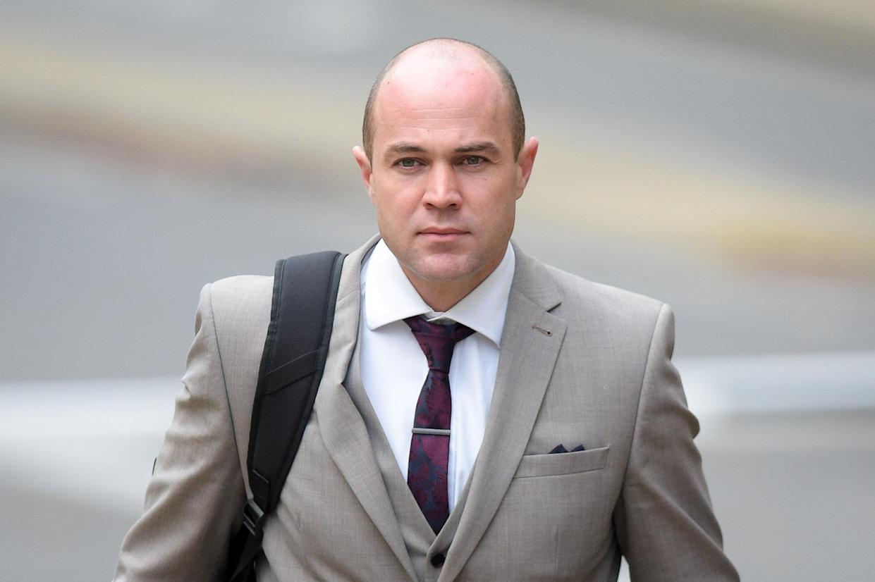 <em>Emile Cilliers, 38, of the Royal Army Physical Training Corps, is awaiting sentence for two charges of attempted murder and a third of recklessly endangering life (Picture: PA)</em>