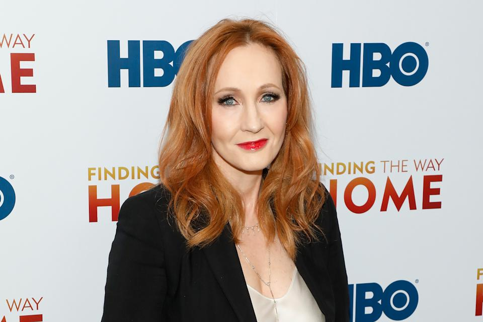 "NEW YORK, NEW YORK - DECEMBER 11: J.K. Rowling attends the premiere of ""Finding the Way Home"" at Hudson Yards on December 11, 2019 in New York City. (Photo by Taylor Hill/FilmMagic)"