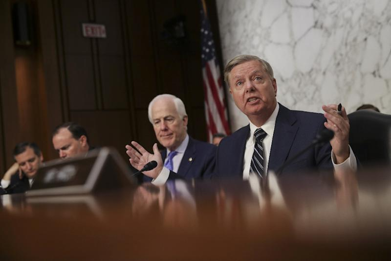 """Senator Lindsey Graham, who has become an outspoken ally of Trump's, said on """"Fox News Sunday"""" that the president was making """"absolutely the right move."""""""