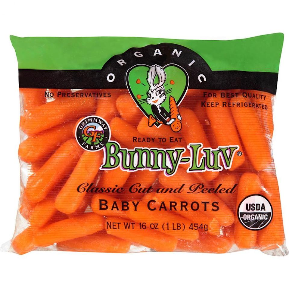 Bunny-Luv carrots are part of a nationwide recall.