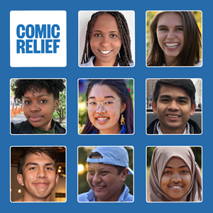 Comic Relief US's Youth Advisory Council is comprised of eight trail-blazing young leaders from across the US and around the world who will work alongside the grantmaking team to inform the organization's Red Nose Day grants portfolio.