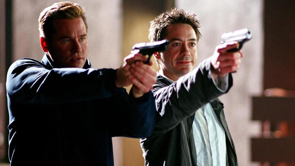 Shane Black loves the Christmas setting and he gave Robert Downey Jr. a killer lead role, three years before Iron Man assured his career reinvention, in this snarky, self-referential crime comedy. (Credit: Warner Bros)