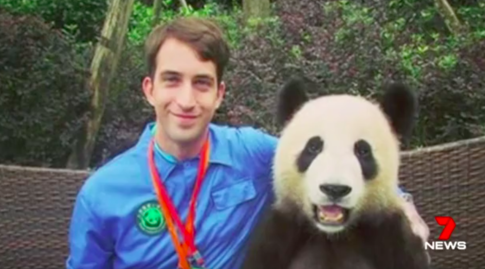 The 26-year-old adventurer from Emu Heights loved China and taught English to school children there. Source: 7 News