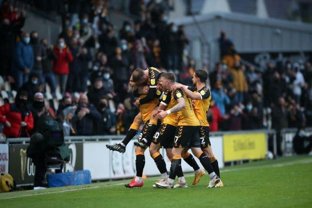 Newport County v Forest Green Rovers – Sky Bet League Two – Playoff – Semi Final – First Leg – Rodney Parde