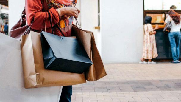 PHOTO: A woman carries shopping bags in this stock photo. (STOCK PHOTO/Getty Images)