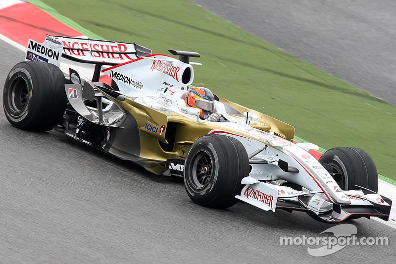 """Force India F1 VJM01 (2008)<span class=""""copyright"""">Alessio Morgese</span>"""