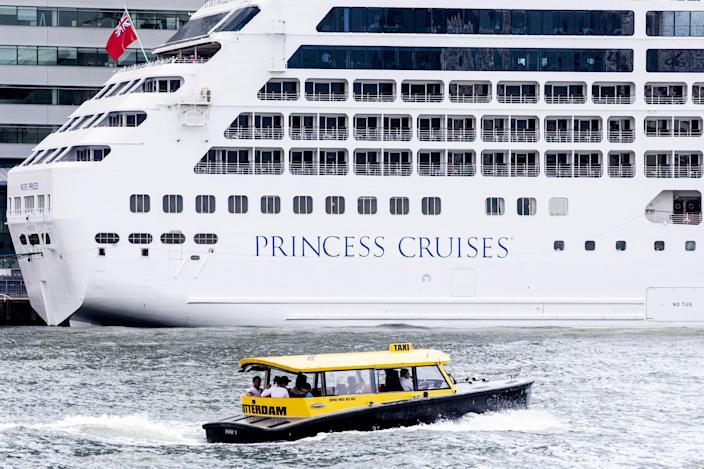 The cruise ship company, Princess Cruises, has been accused of cultural appropriation. (Photo: Getty Images)