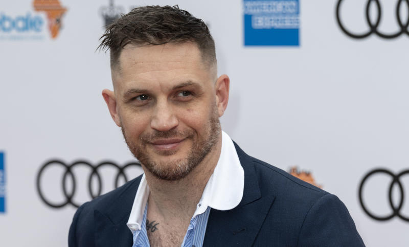 LONDON, ENGLAND - JUNE 11: Tom Hardy attends the Sentebale Audi Concert at Hampton Court Palace on June 11, 2019 in London, England. Sentebale charity was founded by Their Royal Highnesses The Duke of Sussex and Prince Seeiso Bereng Seeiso in 2006. (Photo by Mark Cuthbert/UK Press via Getty Images)