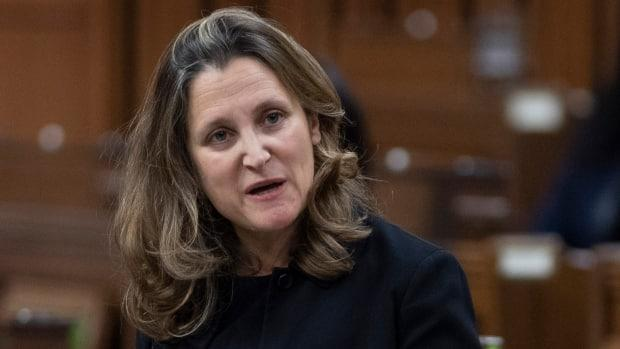 Finance Minister Chrystia Freeland's 2021 budget will be the first federal budget in two years.  (Adrian Wyld/The Canadian Press - image credit)