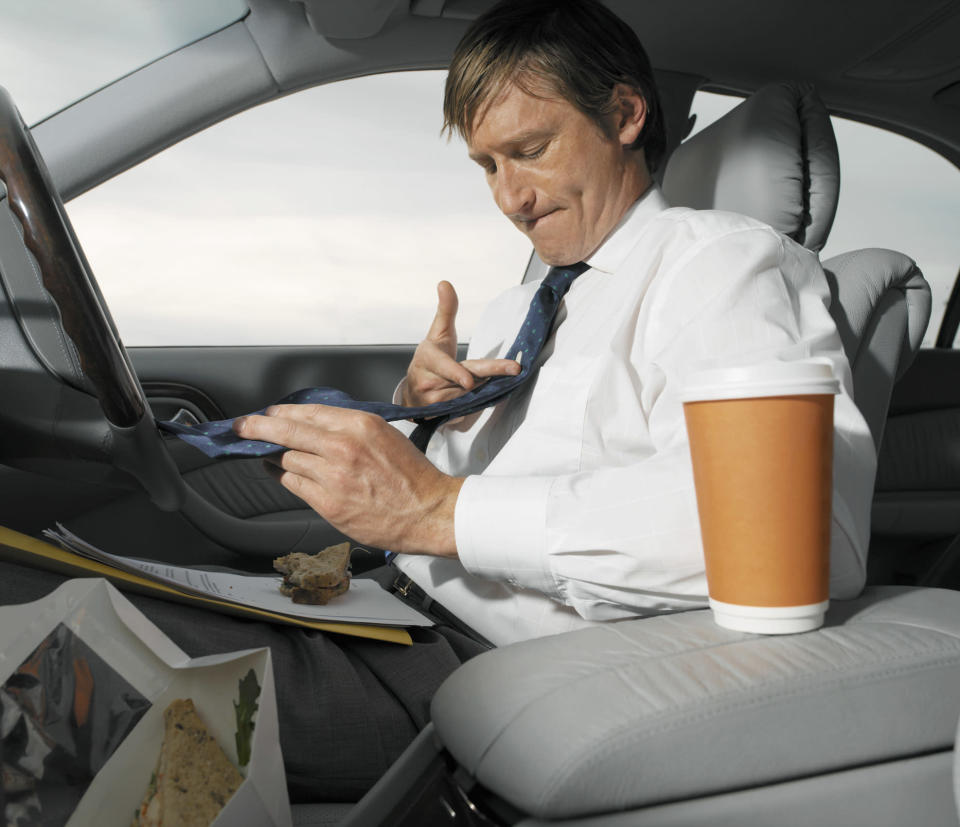 <em>Lifestyle – the survey pointed to people's busy lifestyles as a reason for their messy cars (Picture: Getty)</em>