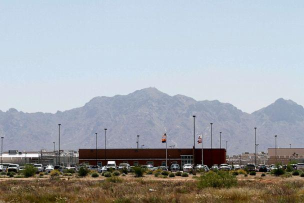 PHOTO: Vehicles are parked outside the La Palma Correctional Center in Eloy, Ariz., May 11, 2010. (Bloomberg via Getty Images, FILE)