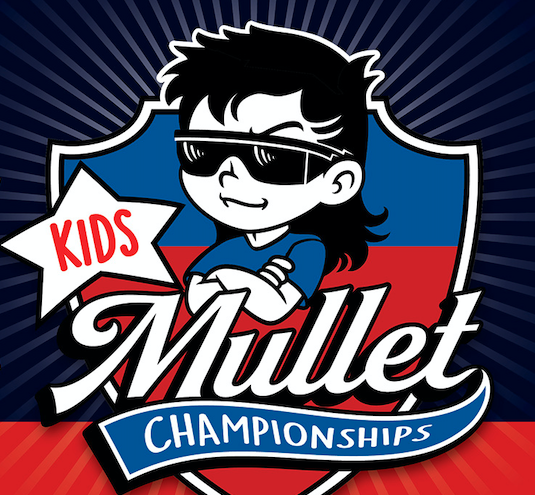 "The winner will take home the crown for ""Best Kids Mullet."" (Photo: MulletChamp)"