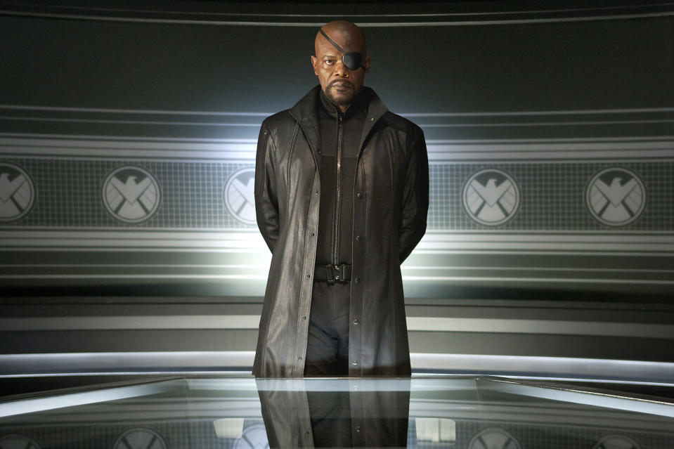 Samuel L. Jackson has Mark Millar to thank for his Nick Fury role as the writer made a point of making the character black in The Ultimates (and name-checked the actor too)