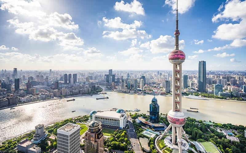 Shanghai has one of the most impressive cityscapes in the world - Yongyuan Dai
