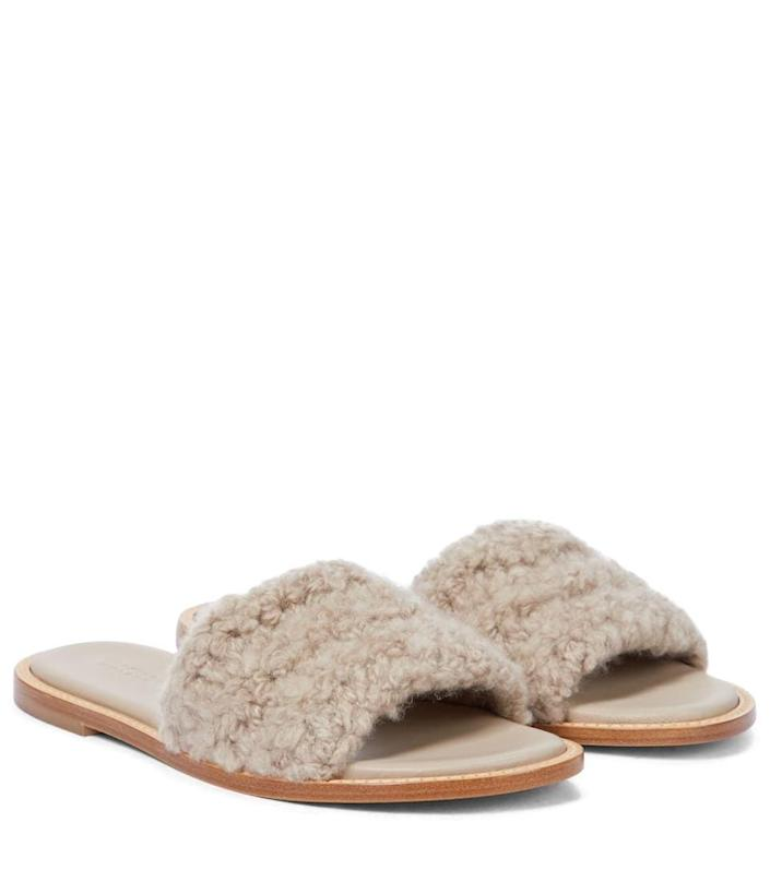 <p>These <span>Gabriela Hearst Ballast Shearling Sandals</span> ($615, originally $700) will easily take you from prepping breakfast on a Sunday morning to meeting friends for a picnic in the park.</p>