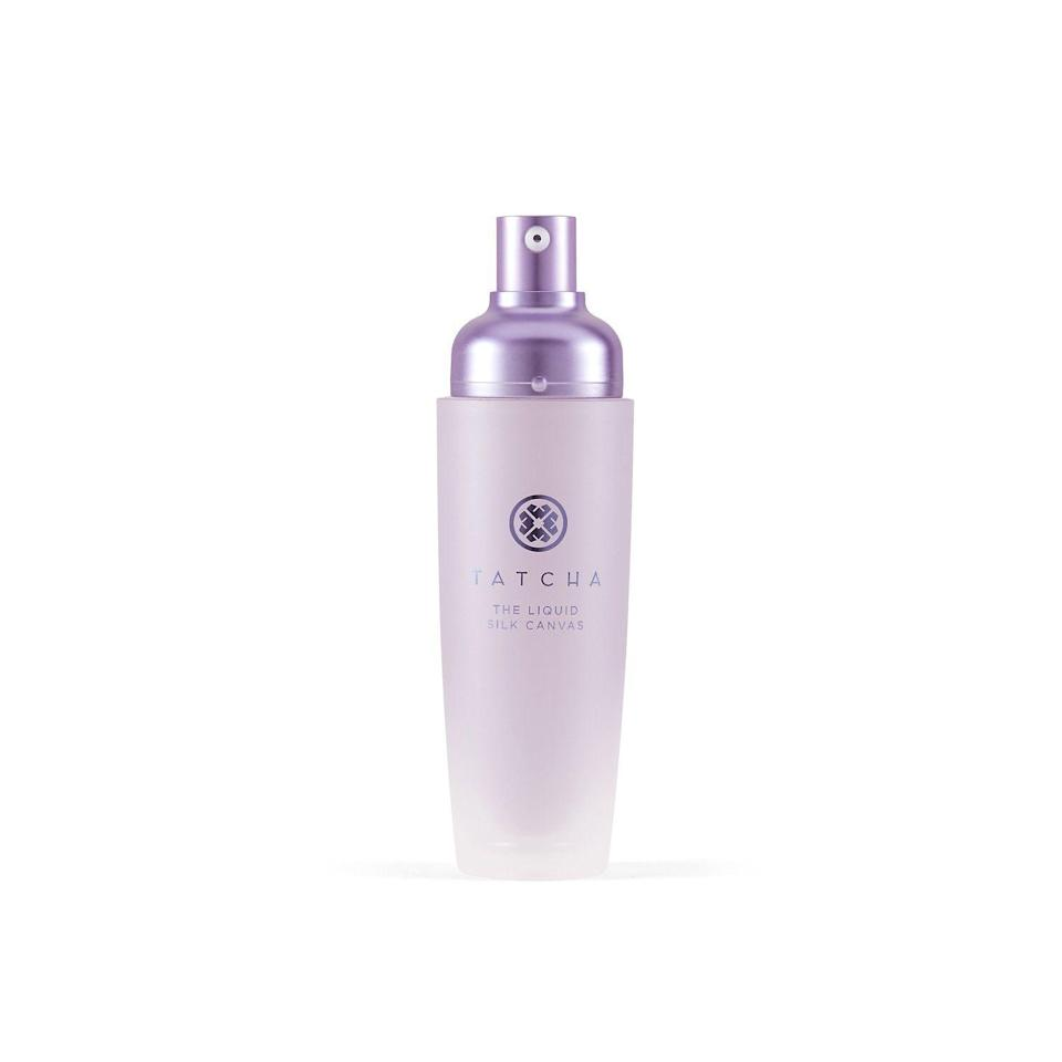 """<p><strong>Tatcha</strong></p><p>sephora.com</p><p><strong>$52.00</strong></p><p><a href=""""https://go.redirectingat.com?id=74968X1596630&url=https%3A%2F%2Fwww.sephora.com%2Fproduct%2Ftatcha-the-liquid-silk-canvas-featherweight-protective-primer-P456446&sref=https%3A%2F%2Fwww.townandcountrymag.com%2Fstyle%2Fbeauty-products%2Fg33537022%2Fthe-weekly-covet-august-7-2020%2F"""" rel=""""nofollow noopener"""" target=""""_blank"""" data-ylk=""""slk:Shop Now"""" class=""""link rapid-noclick-resp"""">Shop Now</a></p><p>""""When a makeup artist friend gushed about Tatcha's original Silk Canvas many moons ago, I was skeptical. Can a primer really be that transformative? Turns out it can. Now I never apply makeup without smoothing on the Liquid Silk Canvas first—it gives skin a glowy, air-brushed quality that has to be seen to be believed.""""</p>"""