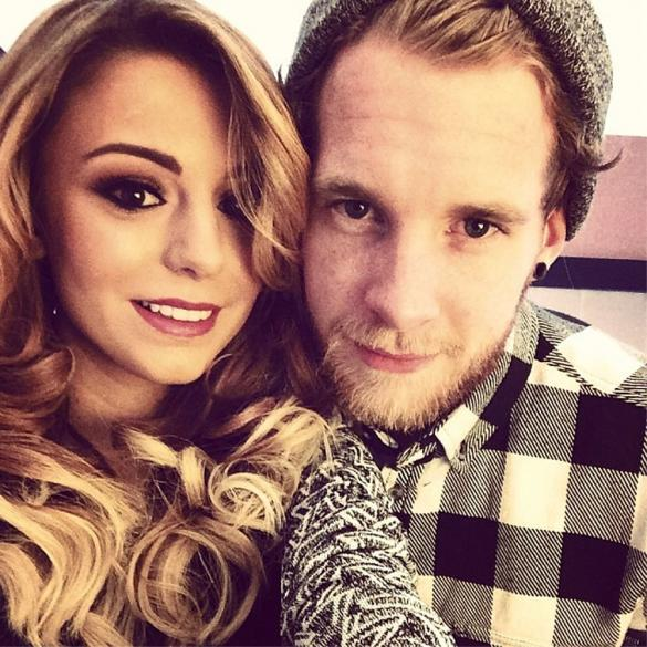 Cher Lloyd Takes Adorable Selfie With Husband Craig Monk Ahead Of
